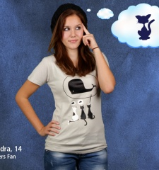 Damen T-Shirt Dream Big