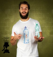 Herren T-Shirt Epic Watter Bottle Flip Champ