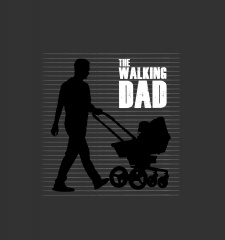 T-Shirt The Walking Dad