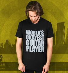 Herren T-Shirt World's Okayest Guitar Player