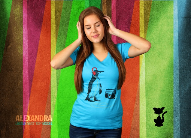 Damen T-Shirt 80ies Rock