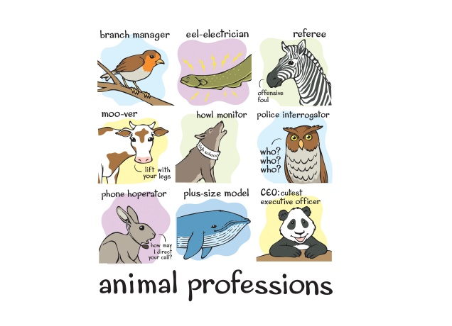 Design Animal Professions