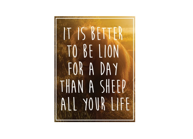 Design Better A Lion For A Day