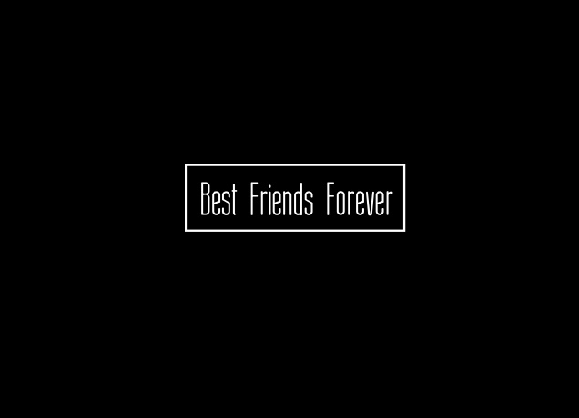 T-Shirt BFF Best Friends Forever Boxed