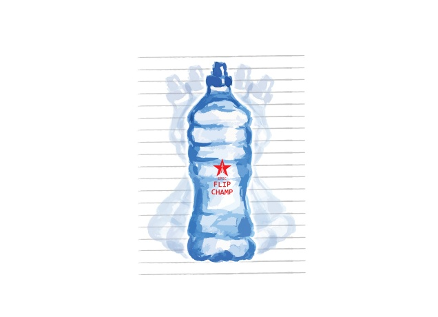 T-Shirt Epic Watter Bottle Flip Champ