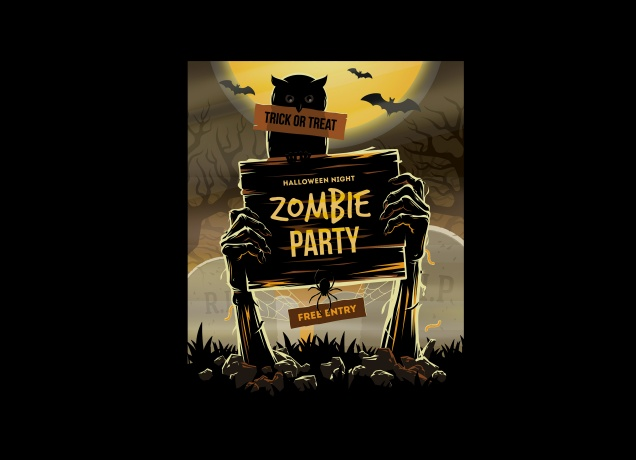 T-Shirt Halloween Party