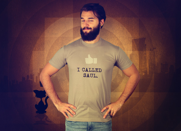 Herren T-Shirt I Called Saul