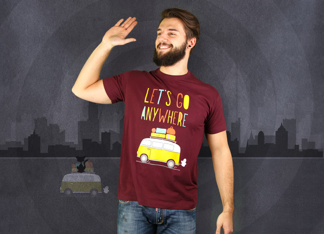 Let's Go Anywhere T-Shirt