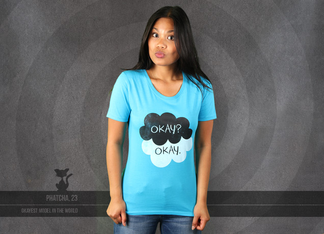 Damen T-Shirt Okay? - Okay.