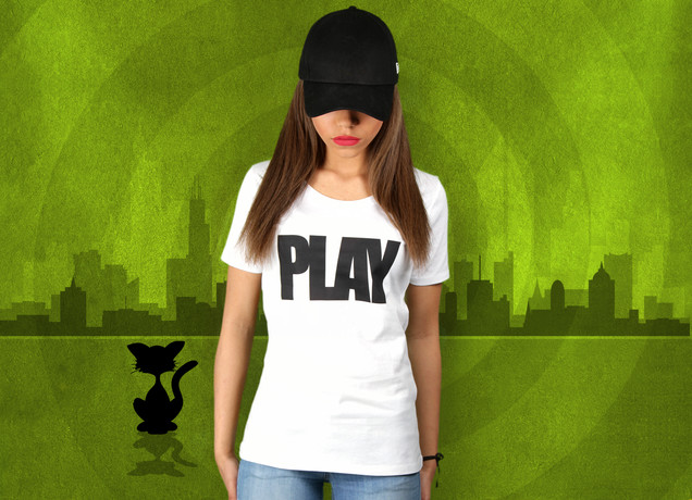 Damen T-Shirt Play