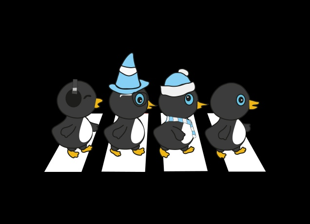 Design The Penguine Abbey Road