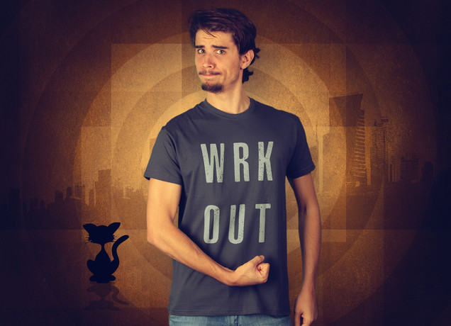Herren T-Shirt Workout